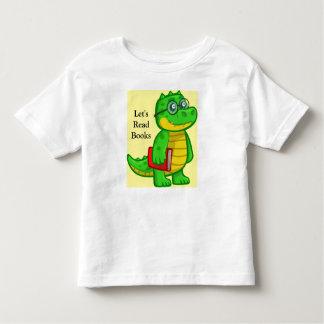 Toddler T-Shirt Little Monster Let's Read