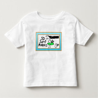 Toddler t-shirt surf birdies and waves