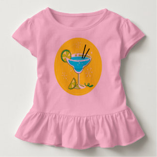 Toddler tee with Margarita : Handdrawn edition