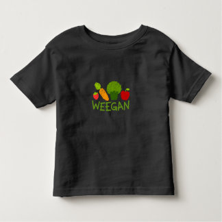 Toddler Weegan T-Shirt - Dark