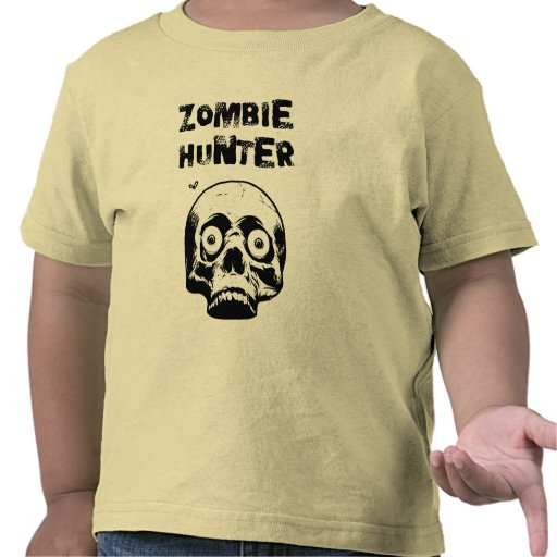 Toddler Zombie Hunter Horror Tshirt - Walking Dead