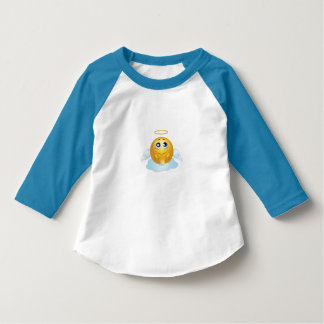 Toddlers Angel Emoji Top