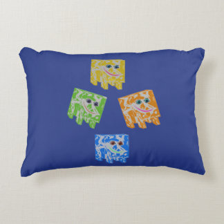 Toddlers Baby Pillow Blue multi Accent Pillow
