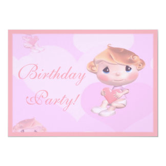 Toddlers Birthday Party Invitation