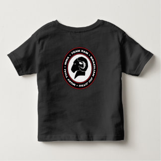 Toddlers' Classic Black RAM T-Shirt