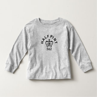 Toddlers English Half-pint long-sleeve T-shirt