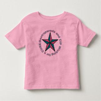 Toddler's Gastroparesis Star Toddler T-shirt