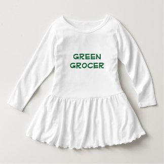 Toddler's Green Grocer Dress
