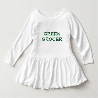 Toddler's Green Grocer Dress Tshirts
