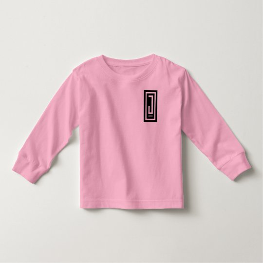 toddlers j wear design long sleeve tee