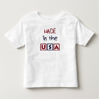 Toddlers Made In The USA T-Shirt