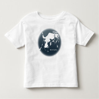 Toddler's New York Shirt NYC Bull Souvenir Shirt