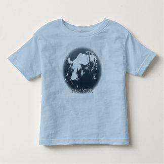 Toddler's New York Shirt NYC Bull Souvenir Shirt