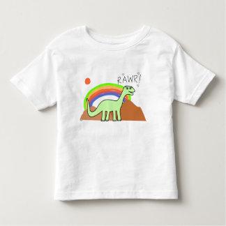 Toddlers Rainbow Rawr Shirts