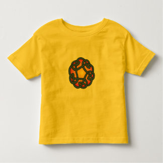Toddler's Yellow Celtic Daisy Chain Knot Shirt