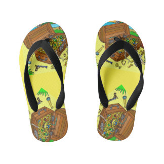 #toddlersstyle pirate flip flops by DAL