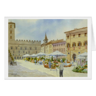 Todi Flower Market Card