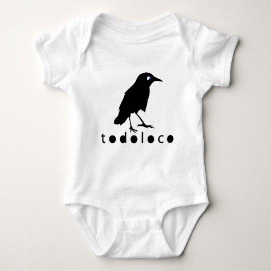 Todoloco Crow Baby Bodysuit