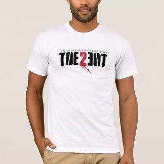 TOE2TOE Logo on WHITE T-Shirt