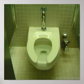 Toe Tap Toilet Poster