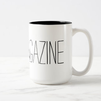 Toes Magazine Mug! Two-Tone Coffee Mug