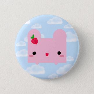 Tofu Bunny 2 Inch Round Button