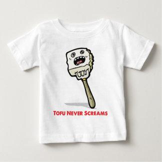 Tofu Never Screams Baby T-Shirt