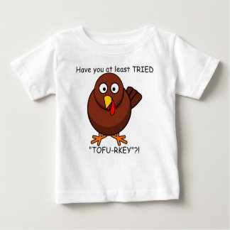 Tofu-rkey Turkey Baby Shirt