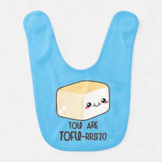 Tofu-rrific Emoji Bib