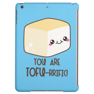 Tofu-rrific Emoji iPad Air Cover