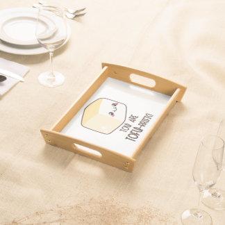 Tofu-rrific Emoji Serving Tray