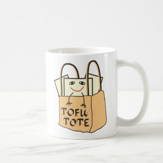 TOFU TOTE for Vegetarians and Vegans Coffee Mug
