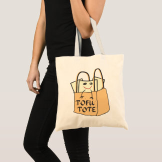 TOFU TOTE Tote Bag for Vegetarians and Vegans