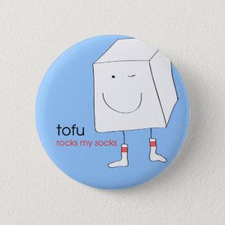 TofuRocksbluebackground.ai 2 Inch Round Button