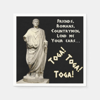 Toga! Toga! Toga! Disposable Napkins