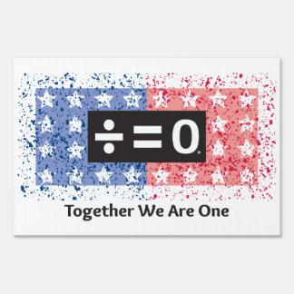 "Together 12"" x 18"" Yard Sign"