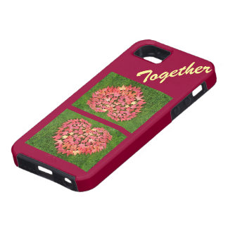 Together Cell Phone covers iPhone Autumn Hearts