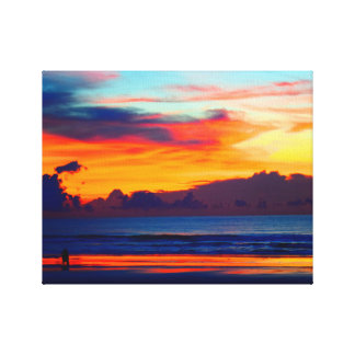 Together: Deep Sunrise Canvas Print