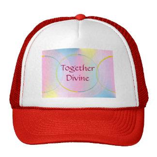 Together Divine Positive Affirmation Mesh Hat