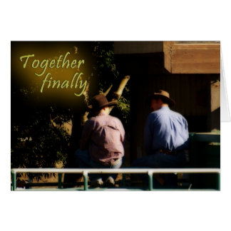 Together Finally Card
