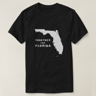 Together for Florida after hurricane Irma pink T-Shirt