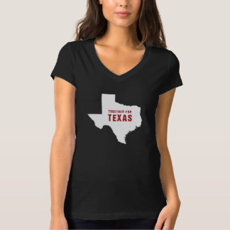 Together for Texas after hurricane Harvey black T-Shirt