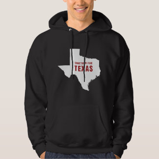 Together for Texas after hurricane Harvey Hoodie