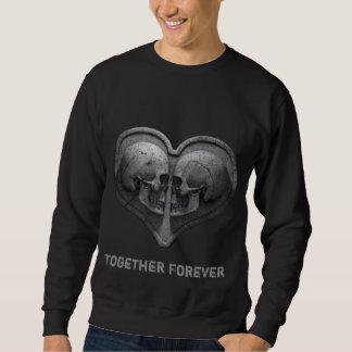 Together Forever Black Sweatshirt
