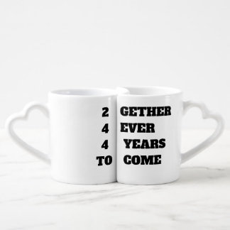 Together Forever For Years to Come Coffee Mug Set