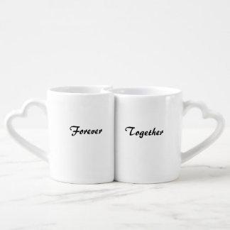Together Forever into love Coffee Mug Set