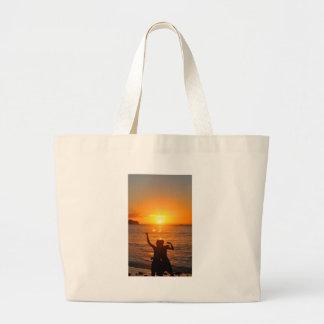 Together forever large tote bag