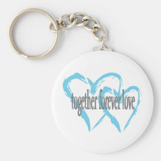 Together Forever Love Keychain