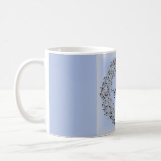 Together Forever romantic lace mug, beautiful! Coffee Mug
