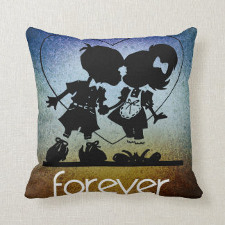 Together Forever Throw Pillow